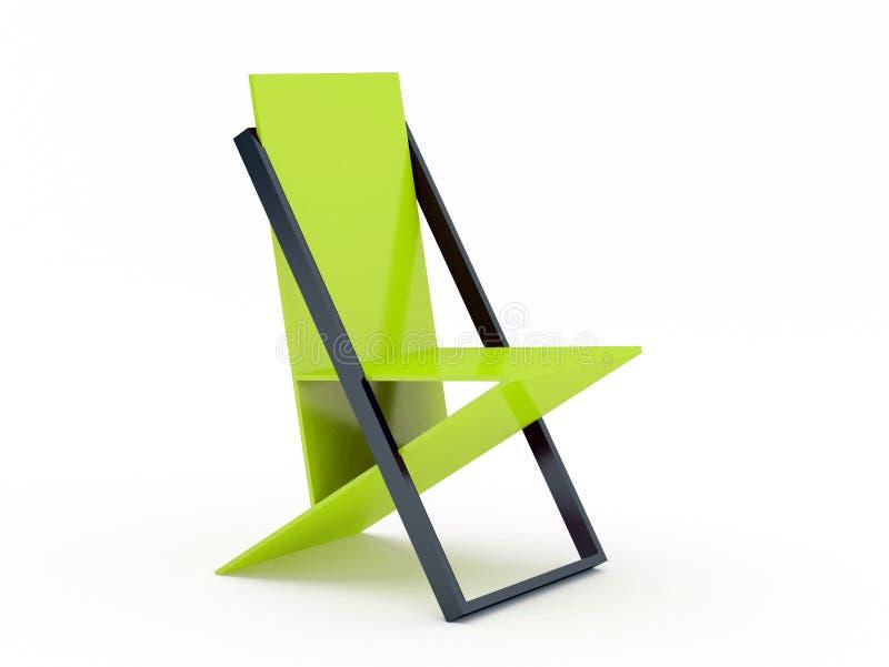 Moderne groene stoel stock foto afbeelding bestaande uit for Groene stoel