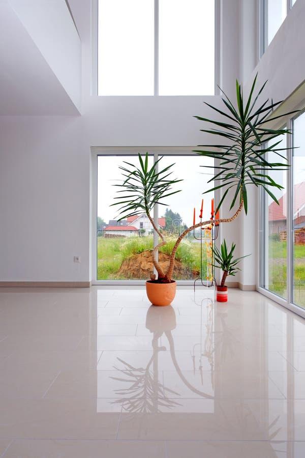 Moderne Halle. lizenzfreies stockfoto