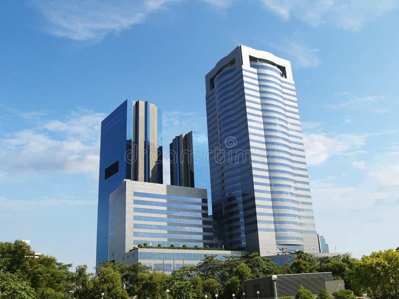Moderne Handelsgebäude stockfoto