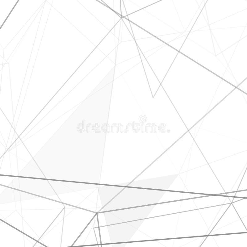 Moderne hi-tech netto structuur grijze achtergrond vector illustratie