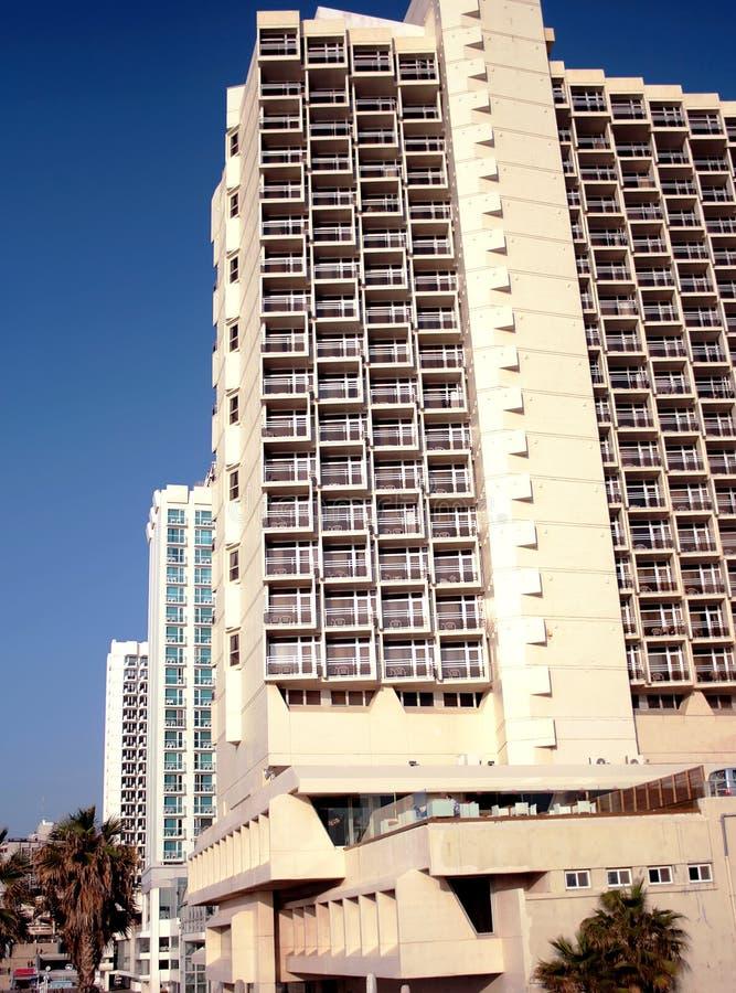 Moderne hotels stock foto
