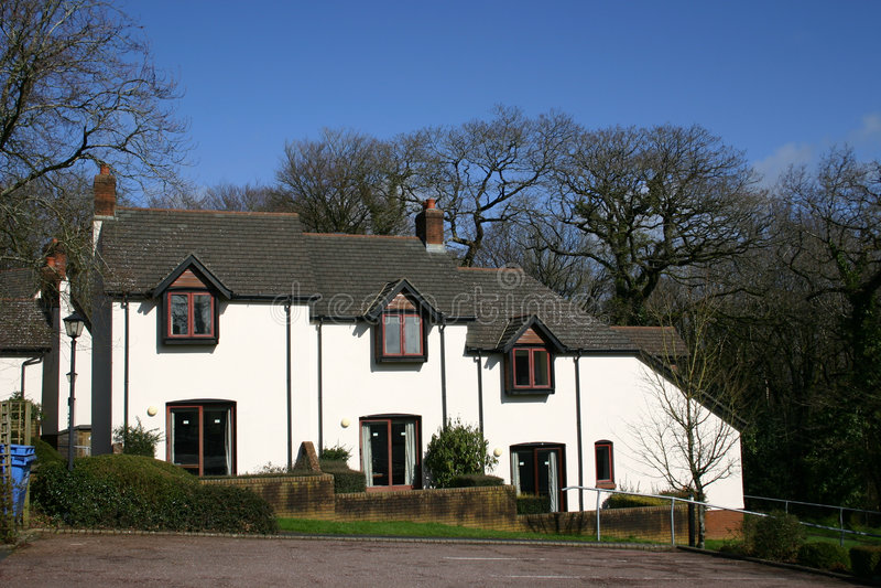 Moderne huizen stock afbeelding afbeelding bestaande uit modern 2138709 - Moderne huis op een helling ...