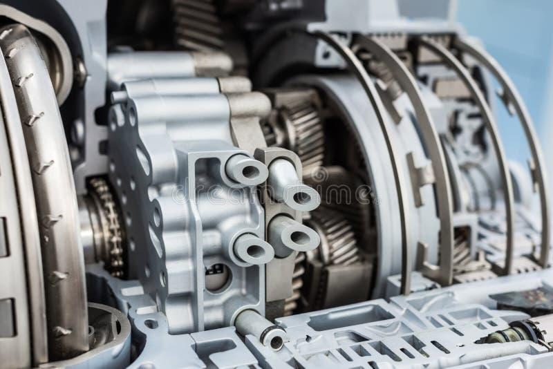 Moderne hydromechanical versnellingsbak Automatische transmissie stock foto