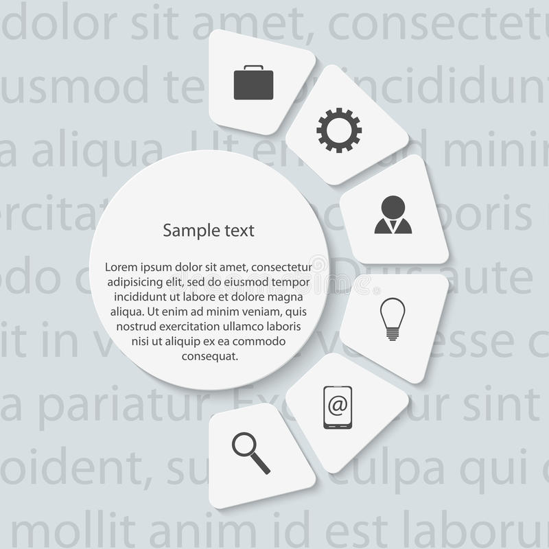 Moderne infographic. Ontwerpelementen. vector illustratie