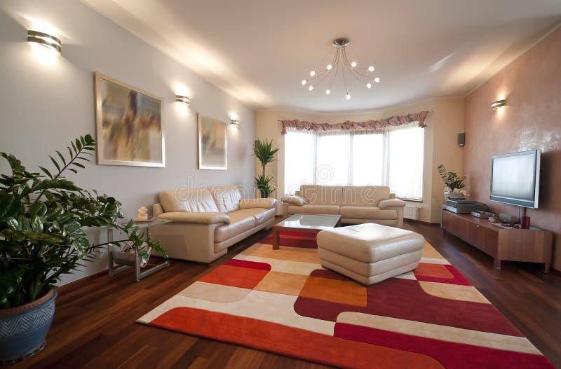 moderne intérieur à la maison photographie stock libre de droits
