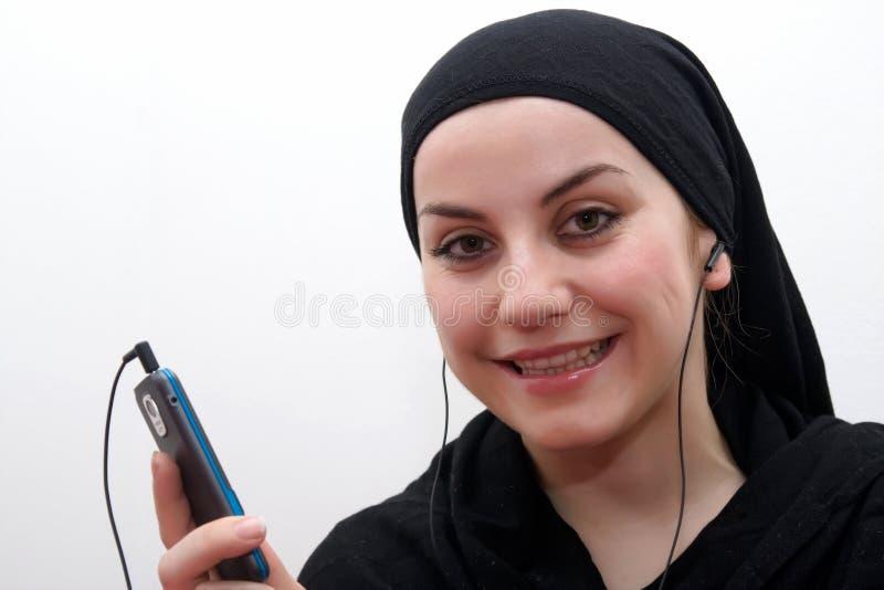 Moderne islam vrouw stock afbeeldingen