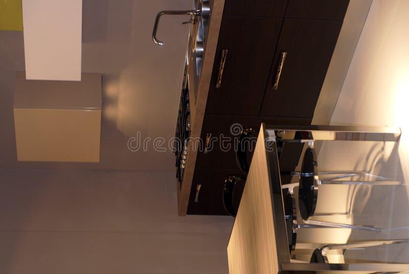 Moderne Küche stockfotografie