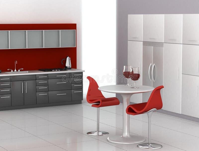 Moderne Küche vektor abbildung