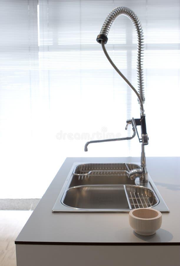 Moderne Küche - Sonderkommando lizenzfreie stockfotografie