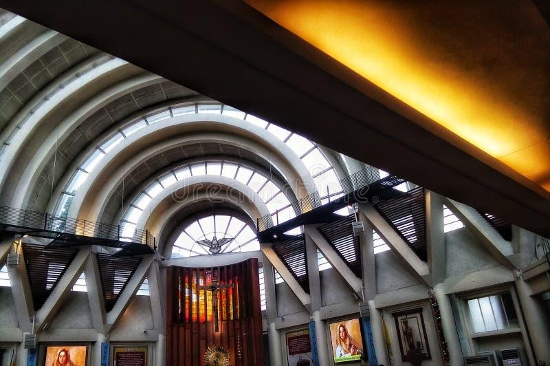 Moderne kerk stock afbeelding