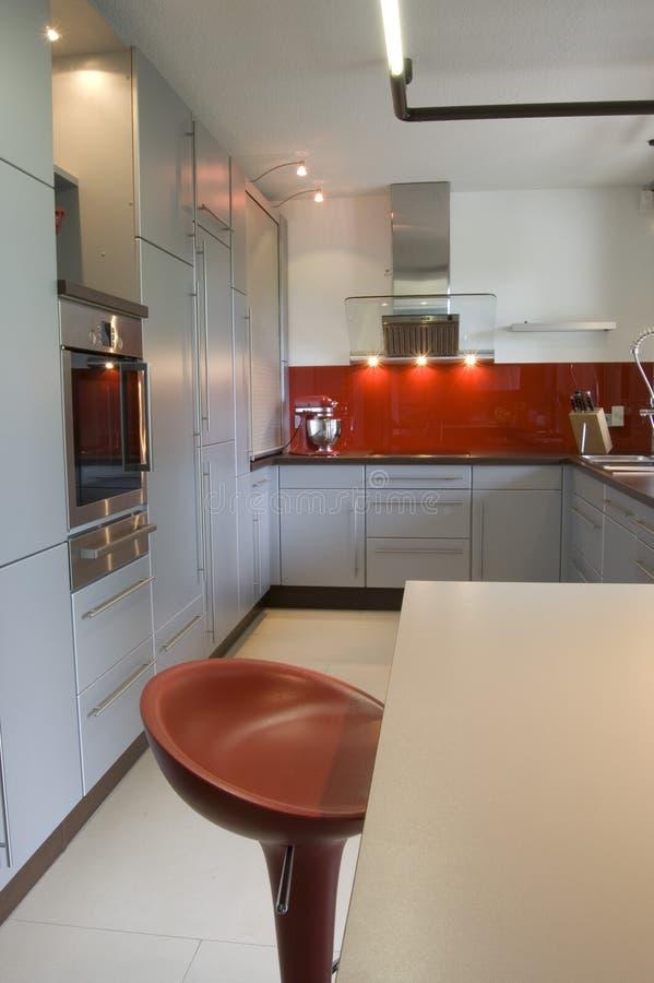 Moderne Keuken royalty-vrije stock afbeeldingen