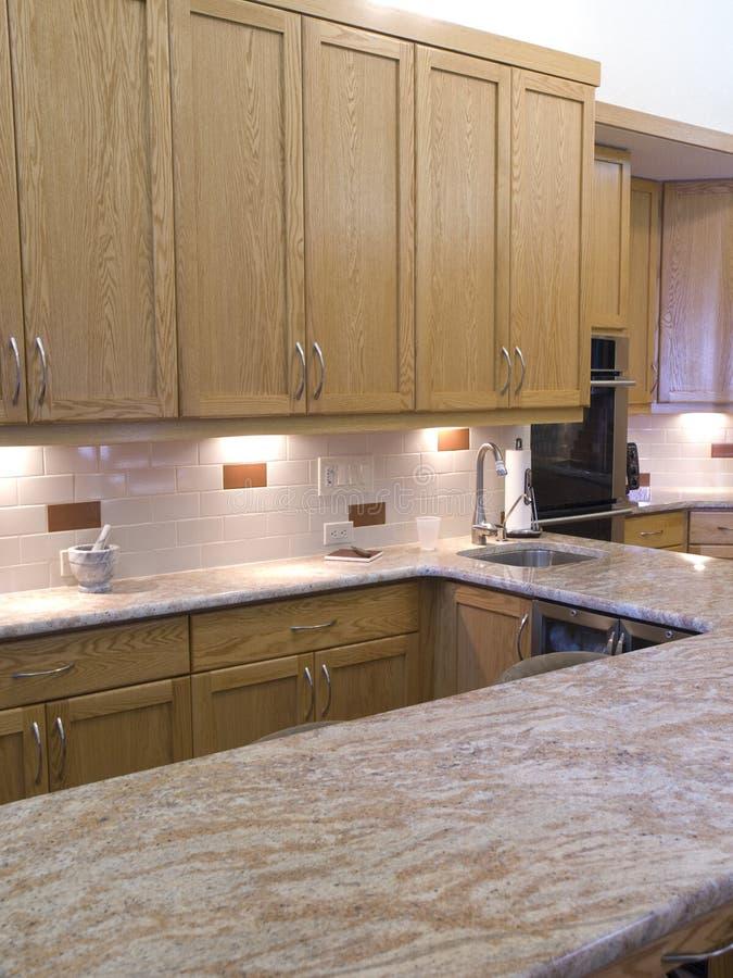 Moderne keuken 702 royalty-vrije stock fotografie