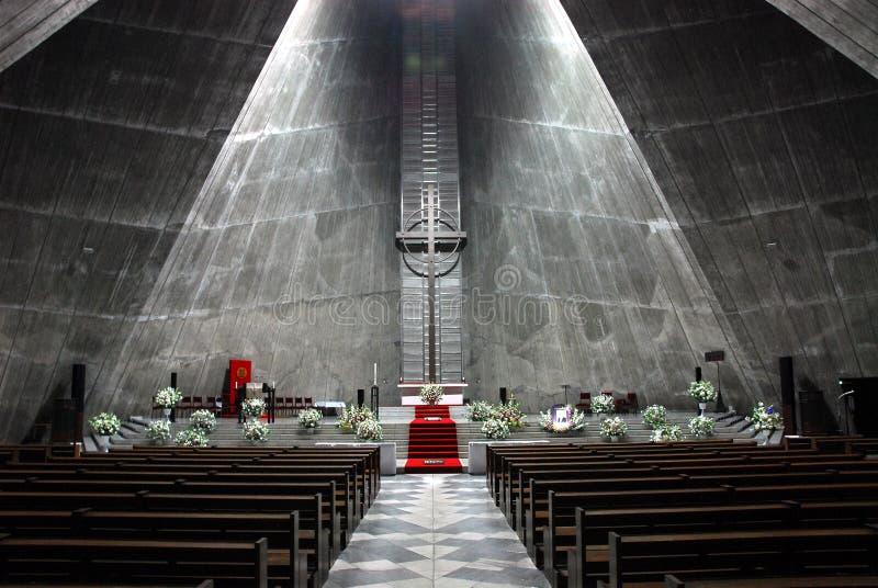 Moderne Kirche stockfoto
