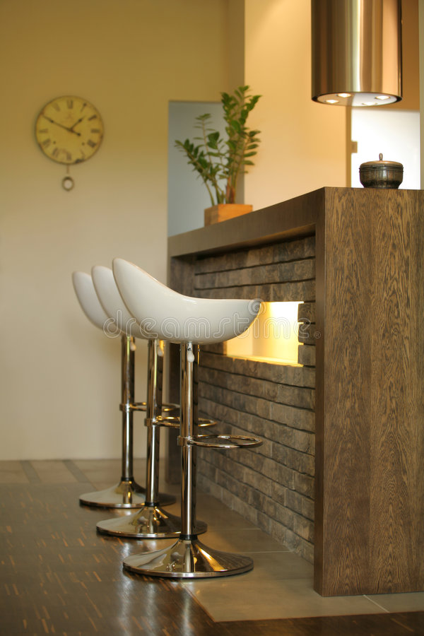 Moderne kitchen#2 stock fotografie