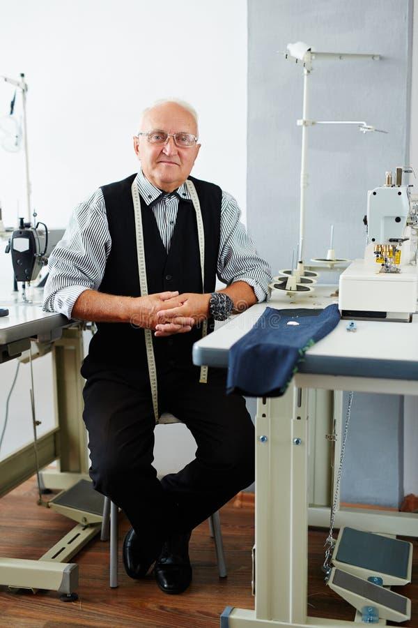 Moderne kleermaker royalty-vrije stock foto