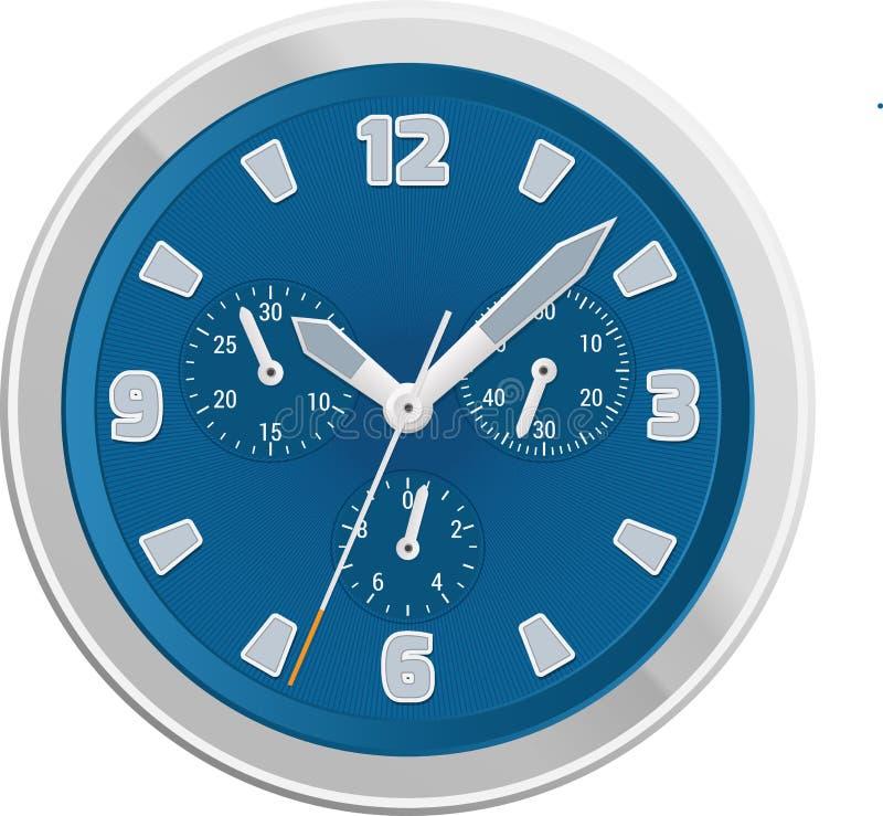 Moderne klok royalty-vrije illustratie
