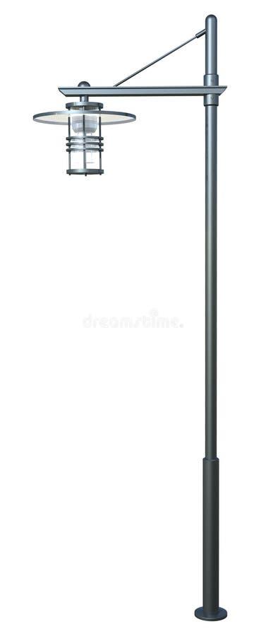 Moderne lamppost royalty-vrije illustratie