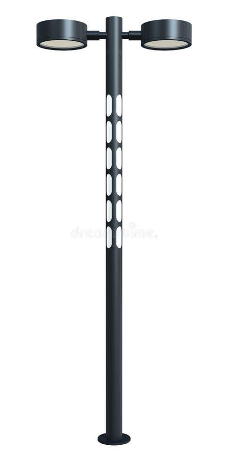 Moderne lamppost vector illustratie
