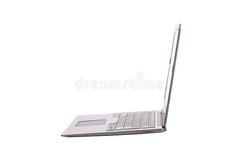 Moderne Laptop-Computer lizenzfreie stockbilder
