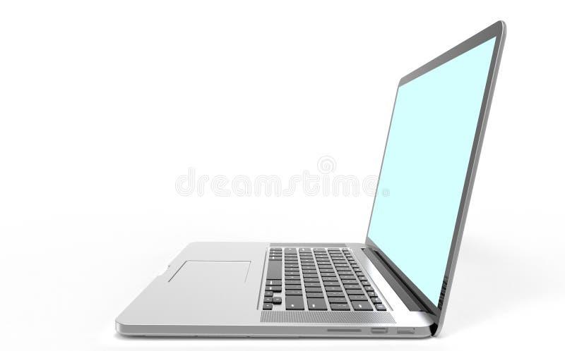Moderne Laptop-Computer stockfotografie