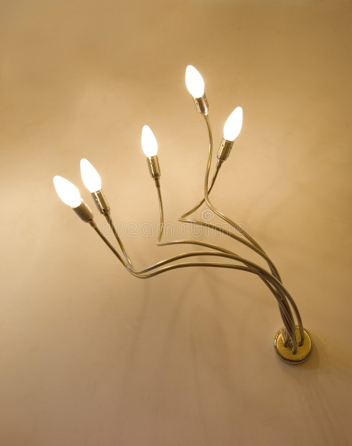 Moderne Lichte Montage stock fotografie
