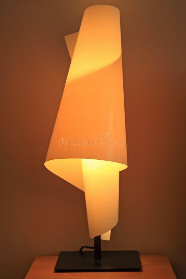 Moderne Luxuslampe stockbild