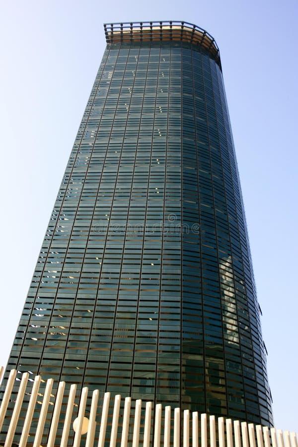 Moderne Mailand-Büros des Gebäude-55 vierteln, Italien stockfotos