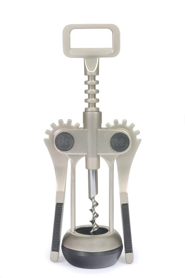 Moderne mechanische kurketrekker royalty-vrije stock foto's