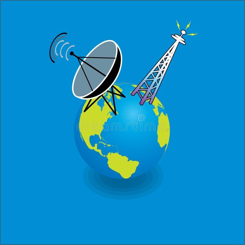 Moderne mededeling vector illustratie
