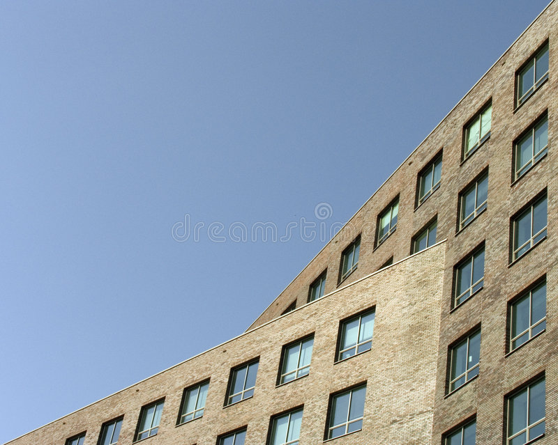 Moderne modernes Bürohaus lizenzfreie stockfotos