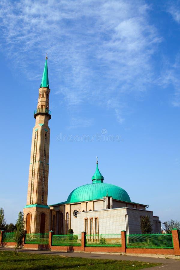 Moderne moskee stock fotografie