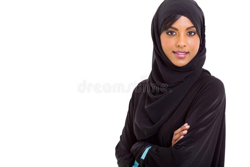 Moderne Moslimvrouw royalty-vrije stock afbeeldingen
