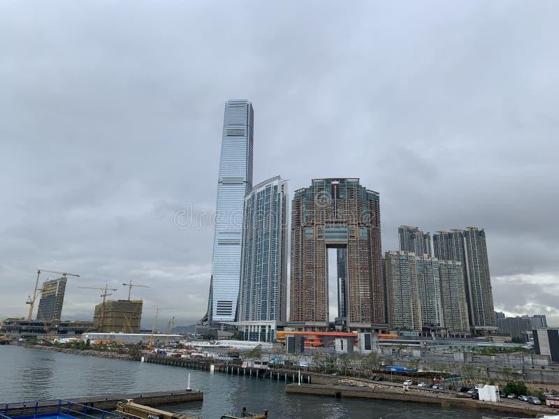 Moderne Neuentwicklung der Gebäude ICC lizenzfreie stockfotografie