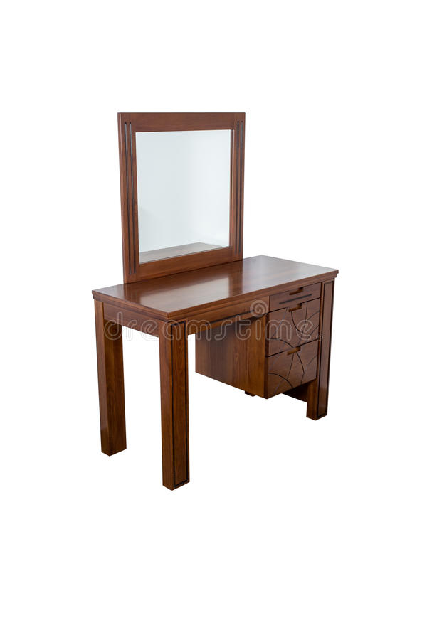 Moderne opmaker met spiegel stock foto's