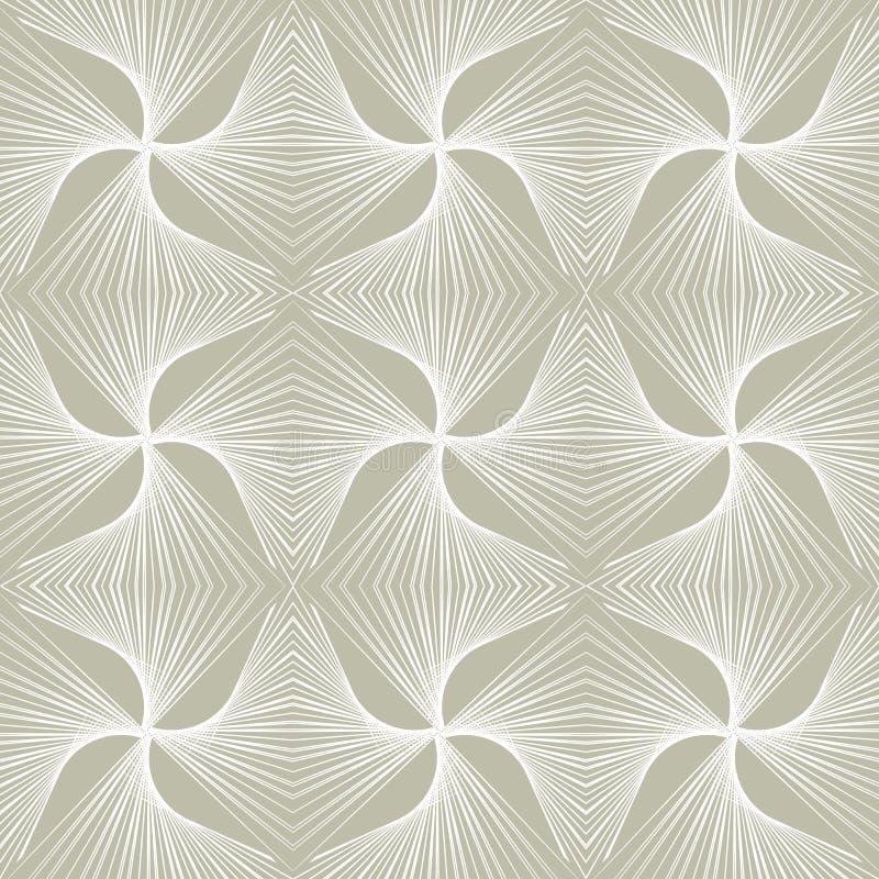 moderne patroon van het jaren '30 het geometrische art deco stock illustratie