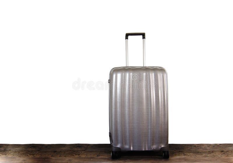 Moderne reiskoffer stock afbeeldingen