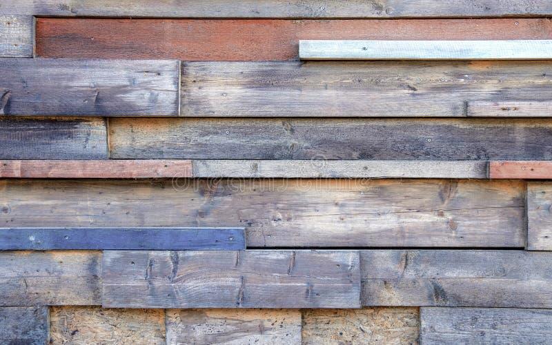 Moderne rustieke muur stock afbeelding