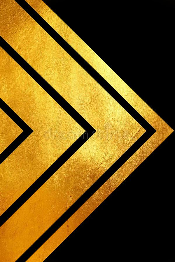Moderne schitterende gouden creatieve/unieke abstracte achtergrond vector illustratie
