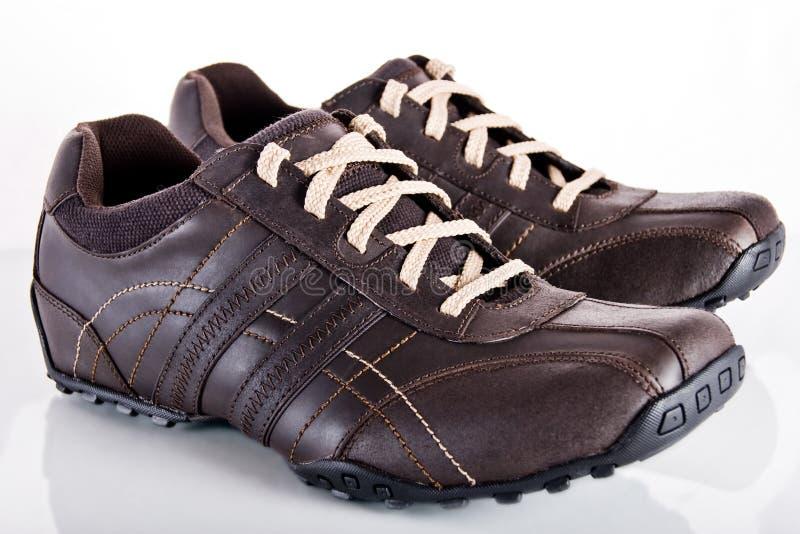 Moderne schoenen royalty-vrije stock afbeeldingen