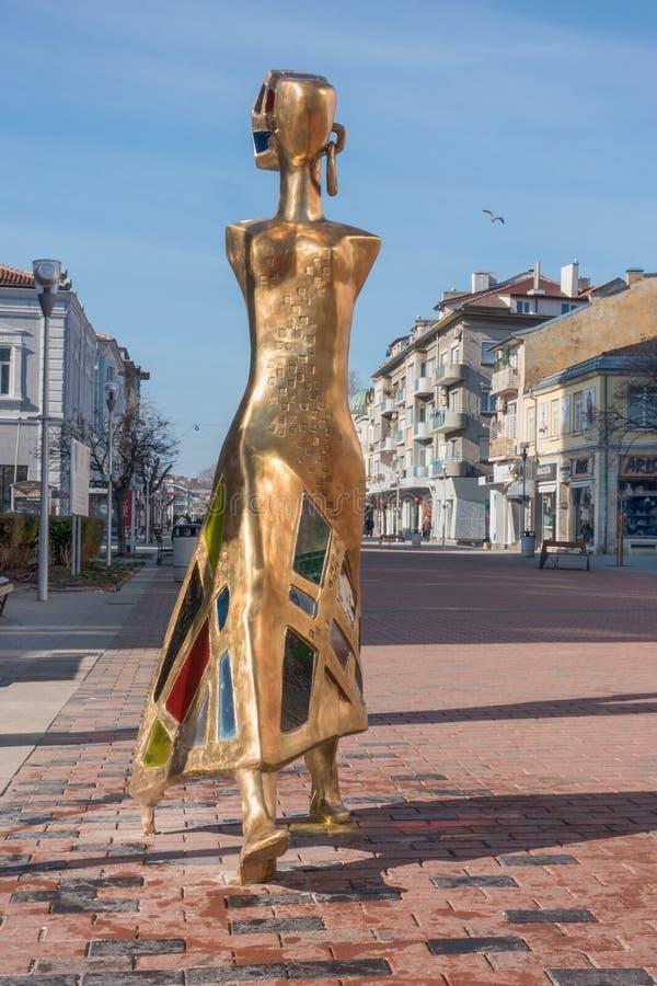 Moderne Skulptur lizenzfreies stockbild