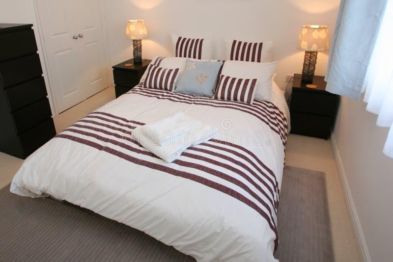 Moderne Slaapkamer stock afbeelding