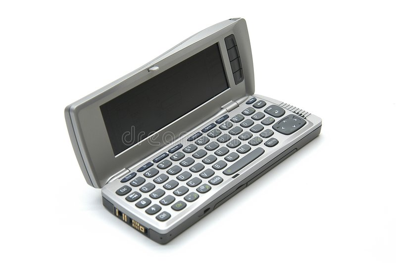 Download Moderne smartphone stock afbeelding. Afbeelding bestaande uit open - 40377