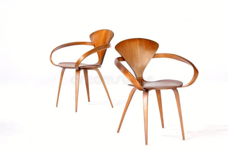 Moderne Stühle lizenzfreies stockfoto