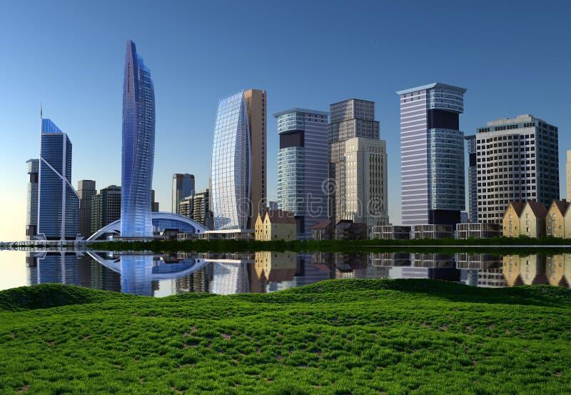 Moderne Stadt vektor abbildung