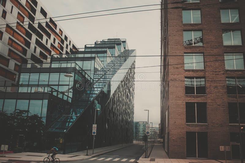 Moderne Stadt-städtisches Stadtbild stockfoto
