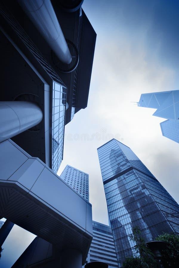 Moderne stedelijke architectuur stock afbeeldingen