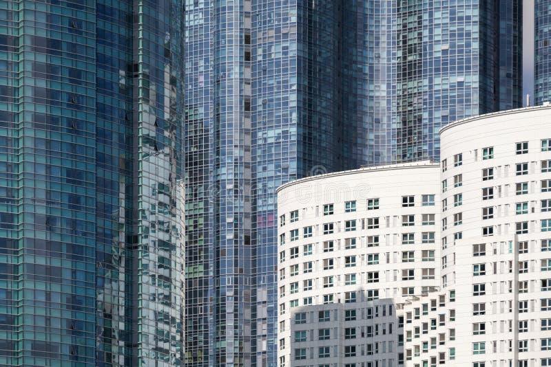 Moderne stedelijke architectuur Samenvatting royalty-vrije stock foto