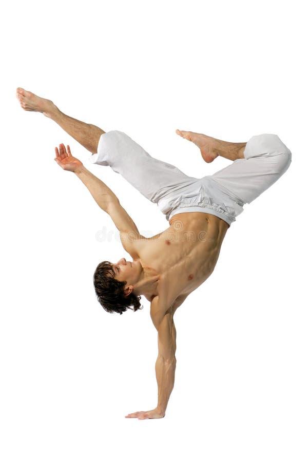 Moderne stijldanser royalty-vrije stock foto's