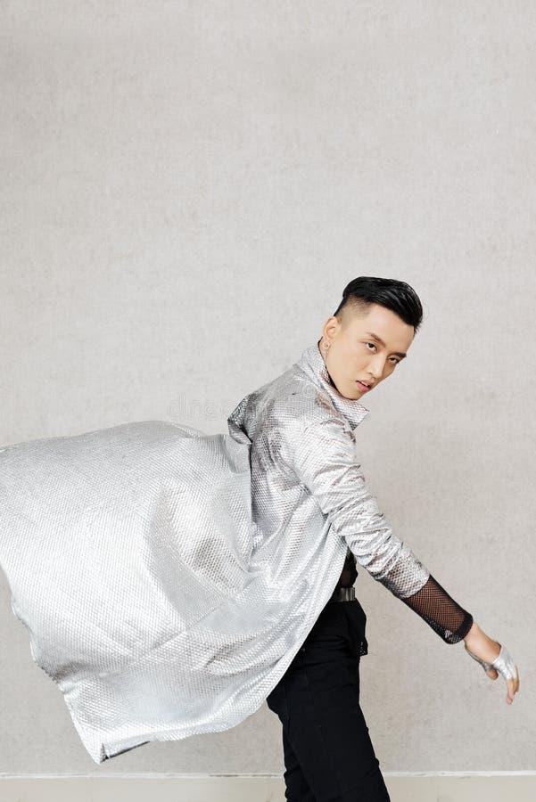 Moderne stijldanser royalty-vrije stock fotografie