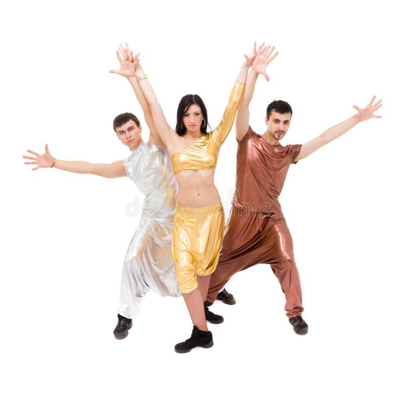 Moderne stijldansers royalty-vrije stock fotografie
